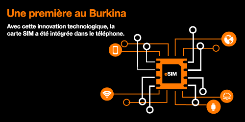 La E-SIM de Orange-Burkina
